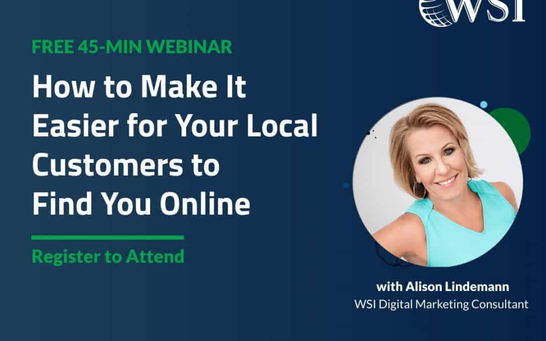 How to Make it Easier for Your Local Customers to Find You Online